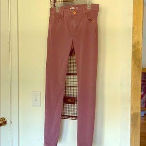 Old Navy Purple Rockstar Jeans